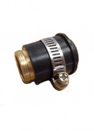 Переходник кран-дивертор к верх. дивертору на кран без резьбы