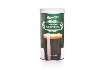 Солодовый экстракт Muntons Export Stout , 1,8 кг., на 23 л пива.