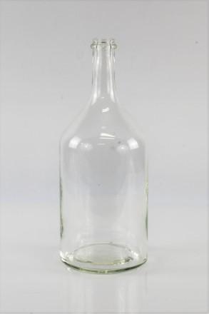 Бутыль 2 л. прозрачная без декора