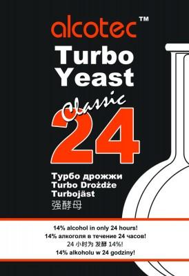 Турбо дрожжи Alcotec 24 Classic