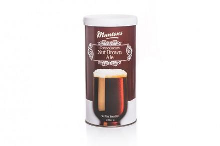 Солодовый экстракт Muntons Nut Brown Ale, 1.8 кг.