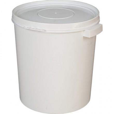 Ведро пластиковое 30 литров круглое для приготовления вина или браги