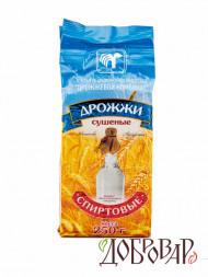 Дрожжи спиртовые 250 г (на 87 л) (Беларусь)