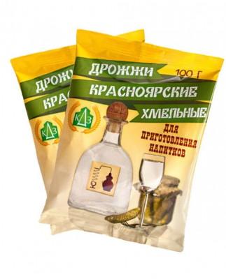 """Дрожжи """"Красноярские Хмельные"""", 100 г."""
