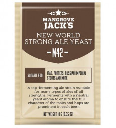 "Пивные дрожжи Mangrove Jack's ""New World Strong Ale M42"", 10 г"