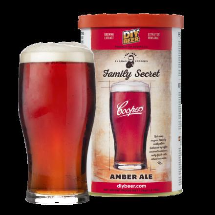 Солодовый экстракт Coopers Family Secret Amber Ale 1,7 кг