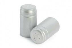 Термоколпачок для винных бутылок 30*50, серебро, 100 шт