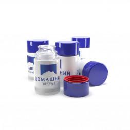 Полимерный колпачок Домашний продукт синий, 58 мм / 10 шт