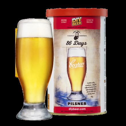 Солодовый экстракт Coopers 86 Days Pilsner 1,7 кг