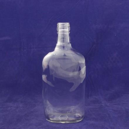 Бутылка винтовая 0,5 л плоская Воск