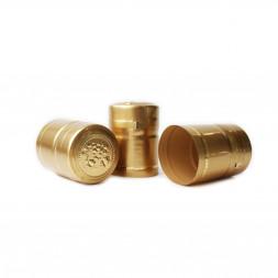 Термоколпачок (40мм) цвет золотой, 40 шт