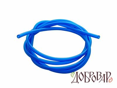 Шланг ПВХ 6 мм синий - 1 м