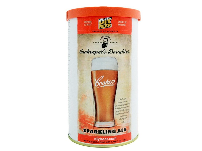 Солодовый экстракт Coopers Innkeepers Daughter Sparkling Ale 1,7 кг