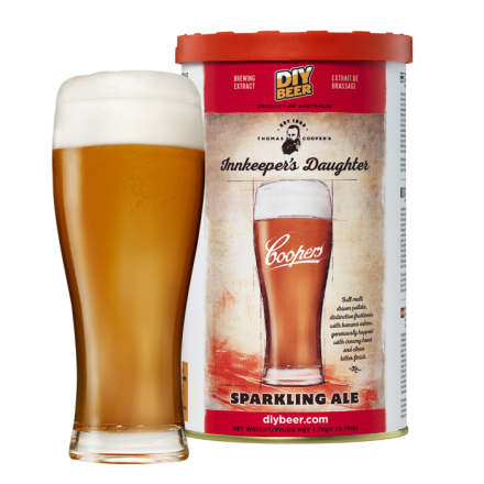 Солодовый экстракт Coopers Innkeepers Daughter Sparkling Ale 1,7 кг