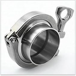 Кламп с заглушкой приварной CLAMP SSTC-PFE102 4 дюйма