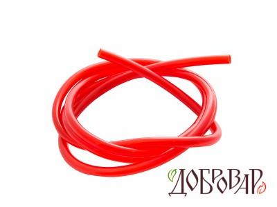 Шланг ПВХ 8 мм красный - 1 м