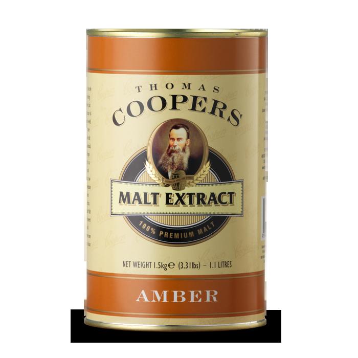 Солодовый экстракт Coopers Amber Malt 1,5 кг