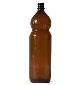 ПЭТ бутылка + крышка  1,5 литра
