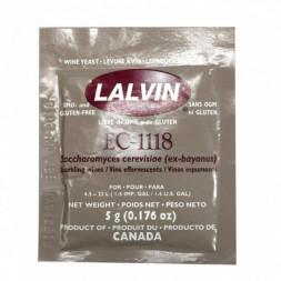 Дрожжи винные Lalvin EC-1118, 5 гр
