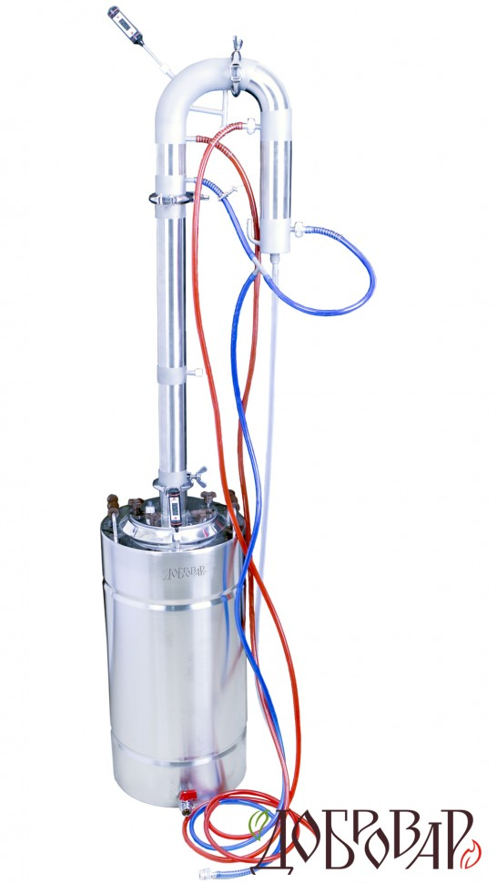 как сделать самогонный аппарат проточного охлаждения