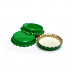 Кроненпробки 6,75 мм, 80 шт (цвет зеленый)