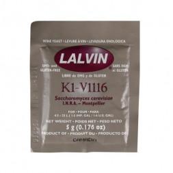 Дрожжи винные Lalvin ICV K1V-1116, 5 гр