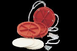 Фильтр пластиковый круглый для вина (с картонными пластинами)